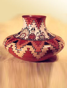 navajo pottery designs. Item# 0101P Laura Leuppe McKelvey, Navajo Pottery Designs